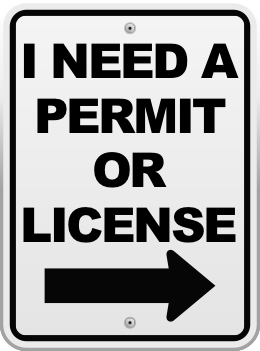 I need a permit or license