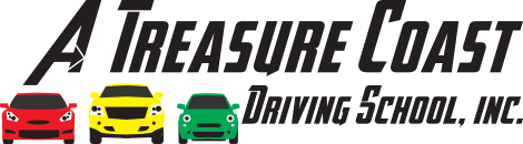 A Treasure Coast Driving School logo